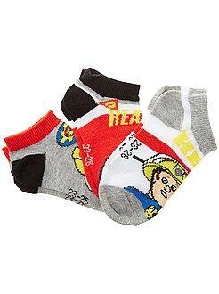 Meias - 3 pares de meias 'Bombeiro sam' - Kiabi