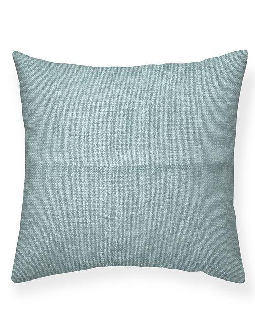 Almofada quadrada com efeito tecido                                                     VERDE