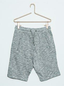 Bermudas, calções - Bermudas sportswear em moletão