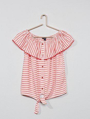 5793acfa2 Camisas e blusas de menina. roupa infantil barata Roupas de menina ...