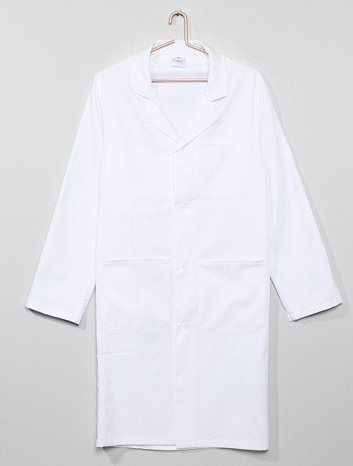 Blusa branca científica                             Branco