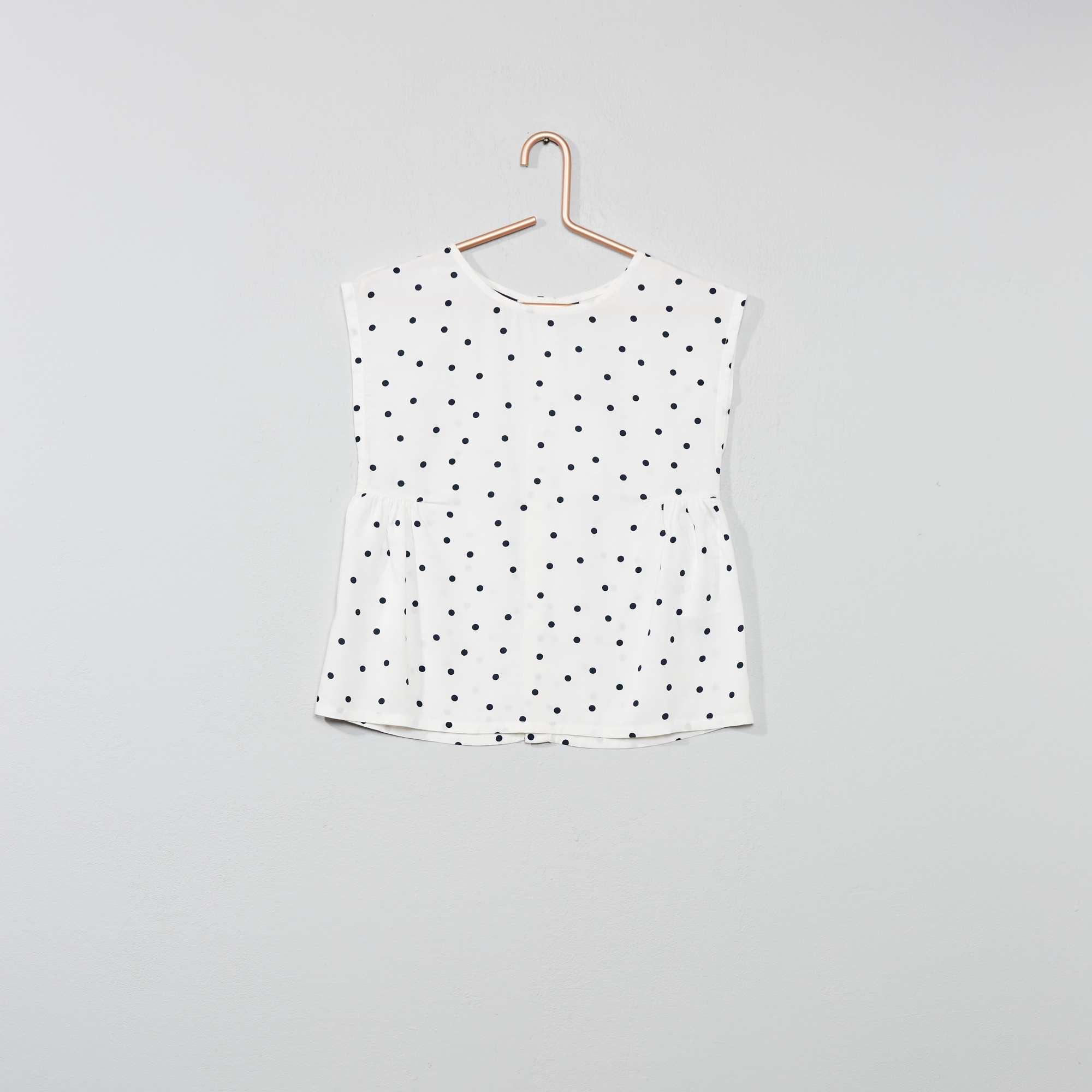 c34719f4f Blusa estampada Menina 3-12 anos - Branco - Kiabi - 7