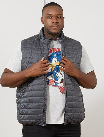 Blusão leve sem mangas - Kiabi
