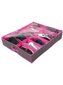 Arrumação - Bolsa de arrumação de calçado em recido