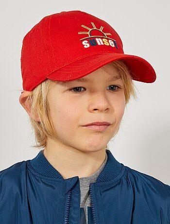 Menino 3-12 anos - Boné bordado - Kiabi 4ba979f1fc0