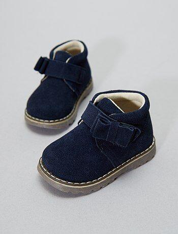 Botas de pele - Kiabi
