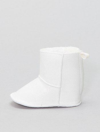 Botas em tecido brilhante - Kiabi