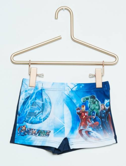 Boxers de banho 'Os Vingadores'                                         azul Menino 3-12 anos