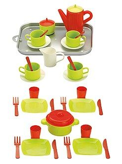 Brinquedos - Brincar às casinhas com 20 peças - Kiabi