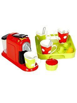 Brinquedos - Caixa 100% chefe máquina de café expresso