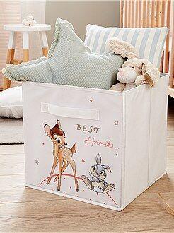 Caixa de arrumação dobrável 'Bambi e Tambor' - Kiabi