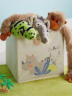 Caixa de arrumação dobrável 'selva' - Kiabi