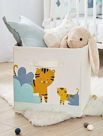 Caixa de arrumação dobrável 'tigre' - Kiabi