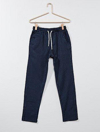 Calças chino em algodão - Kiabi
