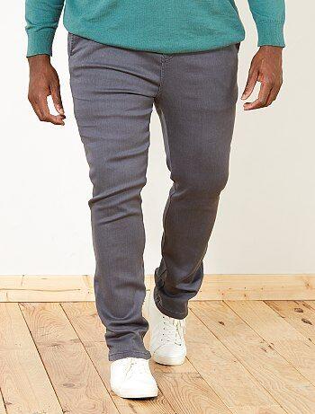 Homem tamanhos grandes - Calças chino regulares - Kiabi