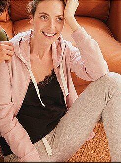 Desporto mulher - Calças de desporto em moletão - Kiabi