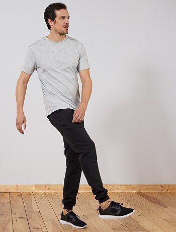 Homem tamanhos grandes - Calças de fato de treino L36 +1,90 m - Kiabi