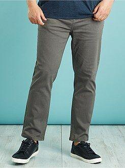 Jeans - Calças de ganga de cor e corte slim