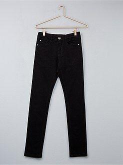 Jeans - Calças de ganga elásticas skinny com 5 bolsos