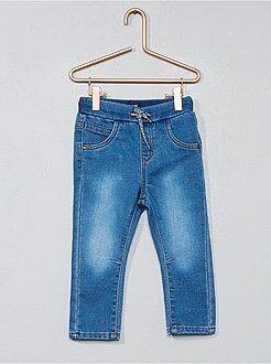 Calças de ganga malha conforto - Kiabi