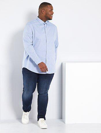 Homem tamanhos grandes - Calças de ganga regulares - Kiabi 4d861661ef825