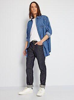 Jeans - Calças de ganga regulares brutas