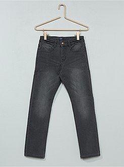 Jeans - calças de ganga regulares de efeito deslavado - Kiabi