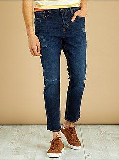 Jeans - Calças de ganga slim curtas - Kiabi