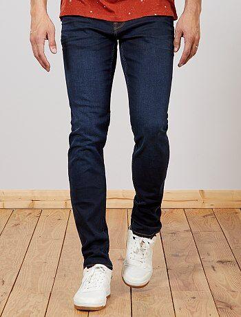Calças de ganga slim de algodão elástico L36 +1m90 - Kiabi