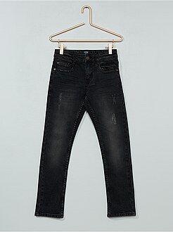 Jeans - Calças de ganga slim deslavadas - Kiabi
