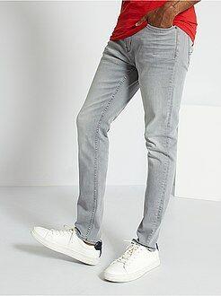 Jeans - Calças de ganga slim elásticas
