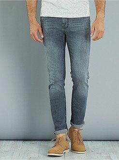 Jeans - Calças de ganga slim elásticas - Kiabi