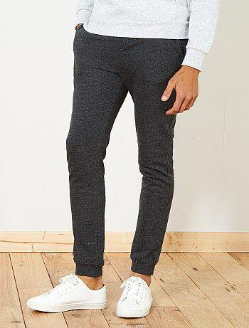 Calças de pijama em moletão - Kiabi