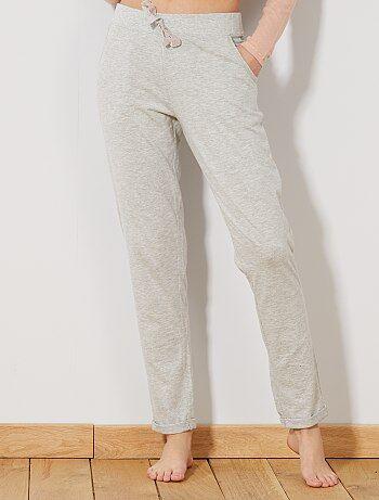 Calças de pijama lisas - Kiabi