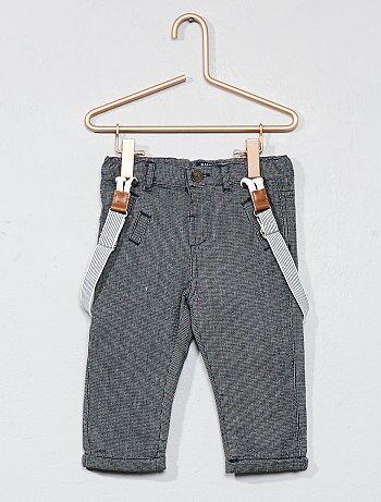 Calças forradas de algodão - Kiabi