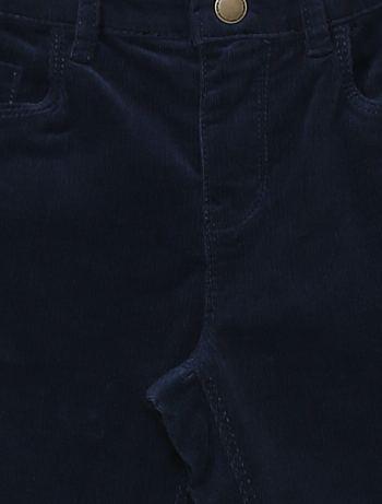 Calças skinny em veludo canelado Menina 3 12 anos Kiabi