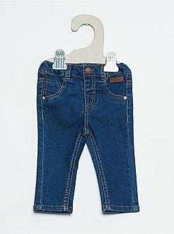Calças, jeans, legging - Calças slim efeito ganga