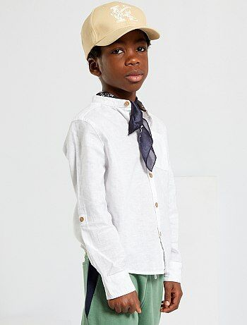 Camisas baratas de menino  camisa lisa 9df72a6eef1