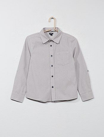 Camisa com motivos - Kiabi