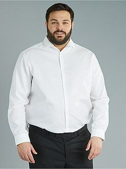 Camisa de corte direito de fantasia Easy Iron - Kiabi