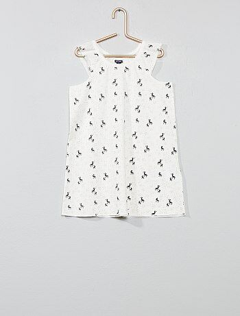 b2c3a74b2 Menina 3-12 anos - Camisa de dormir  zebra  - Kiabi