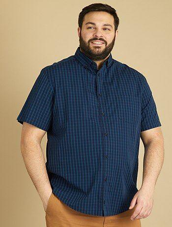 Camisa de manga curta com estampado - Kiabi