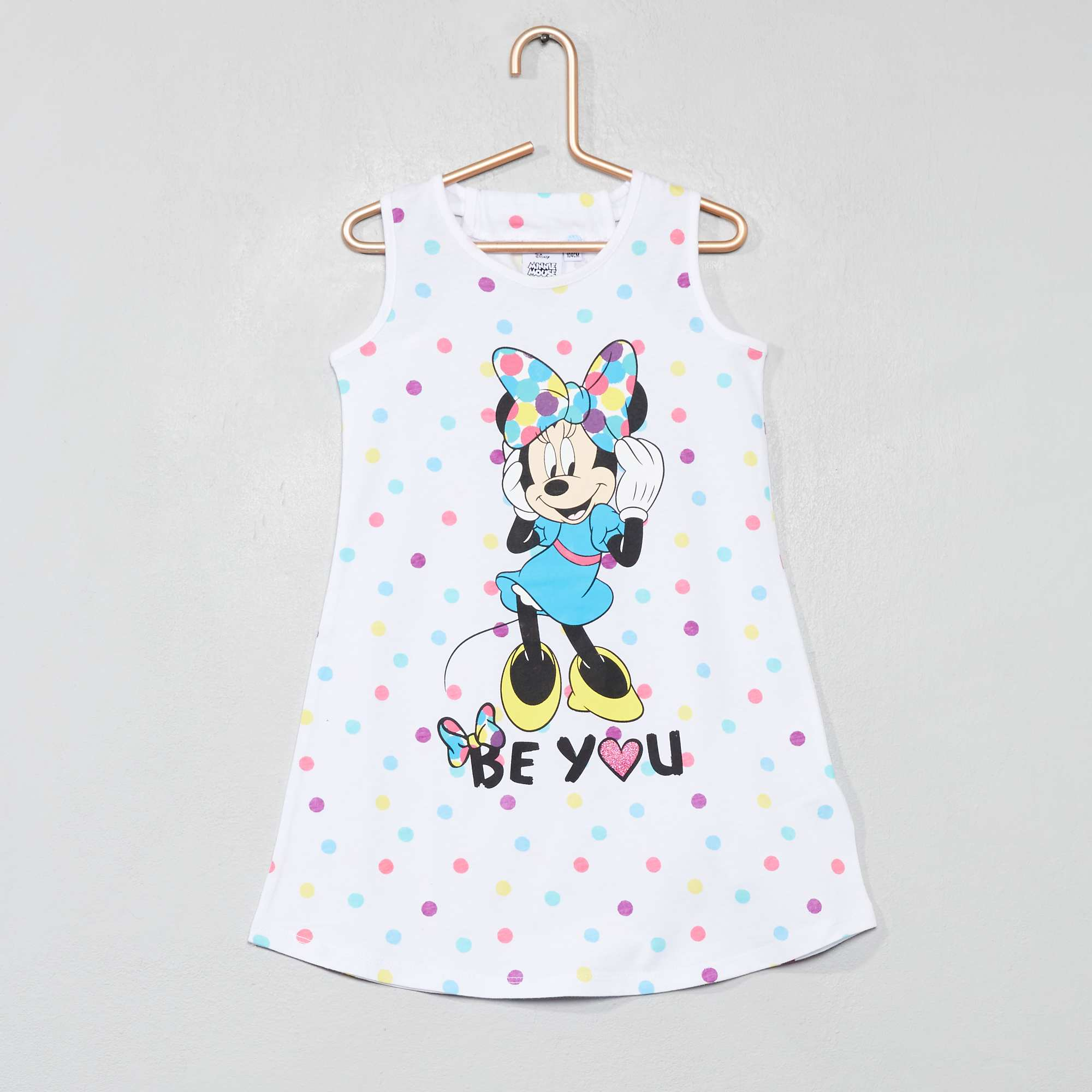 f3f0964c8 Camisa de noite  Minnie  Menina 3-12 anos - Branco - Kiabi - 12