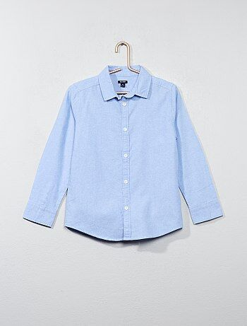Camisa em oxford - Kiabi