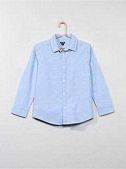 Camisa - Camisa em oxford