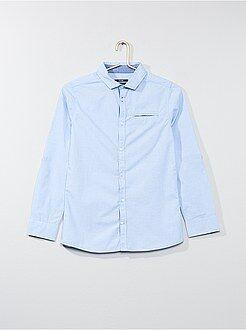 Camisa - Camisa em puro algodão