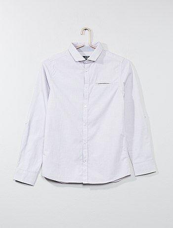 Camisa em puro algodão - Kiabi