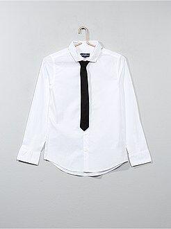 Camisa + gravata - Kiabi