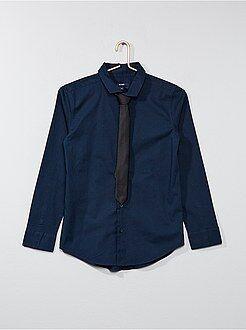Camisa + gravata