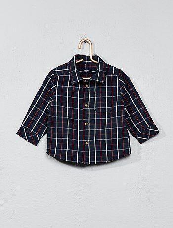 Camisas com estampado em popelina - Kiabi